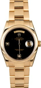 Rolex Day-Date 118208 Yellow Gold Oyster