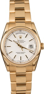 Pre-Owned Rolex Day-Date 118208 Oyster Bracelet