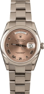 Rolex Day-Date 118209 White Gold
