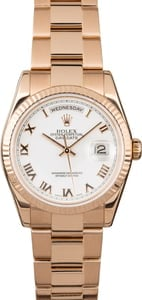 Rolex Day-Date 118235 Everose Gold Oyster
