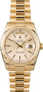 PreOwned Rolex President 118238