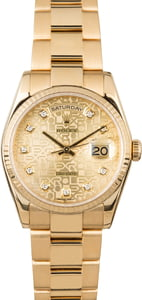 Rolex Presidential Diamond Jubilee 118238 PreOwned