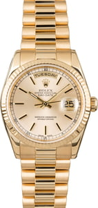 PreOwned Rolex President 118238 Champagne Dial
