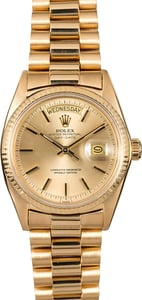 Rolex President 1803 18K Yellow Gold