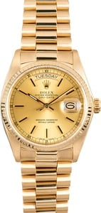 Rolex Day-Date 18038 Champagne Dial