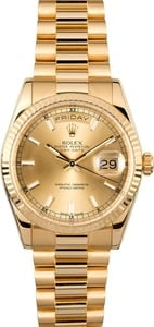 Rolex Presidential 118238 18K Luminous Markers