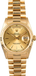 Rolex Day-Date 18238 Yellow 18K Gold