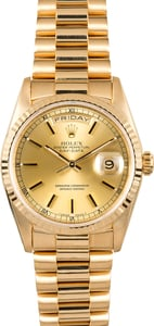 Rolex Day-Date 18238 Yellow Gold