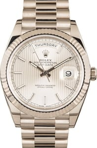 Rolex White Gold Day-Date President 228239