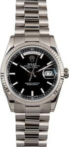 Rolex Day-Date President 118239 Black