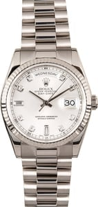Rolex Day-Date President 118239 White Gold