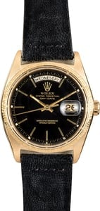 Rolex Day-Date President 1803 Black