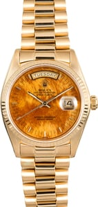 Rolex Day-Date President 18038 Wood Dial