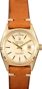 "Rolex Day-Date Presidential 1803 Vintage ""Pie-Pan"""
