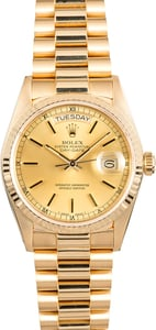 Rolex Day-Date Presidential 18038 Gold
