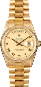 Rolex Day-Date 18078 Bark Finish