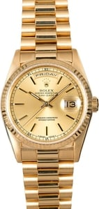 Rolex President 18238 Champagne Dial