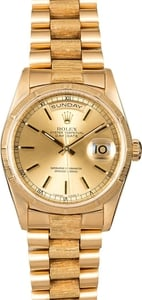Men's Rolex Presidential 18248 Bark Finish