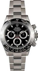 Used Rolex Daytona 116500LN Black Dial Ceramic Bezel