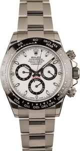 Used Rolex Daytona 116500 White Dial Ceramic Watch