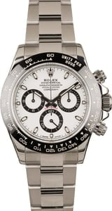 Pre-Owned 40MM Rolex Daytona 116500 White Dial