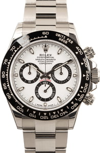 Rolex Daytona 116500 White Dial with Ceramic Bezel