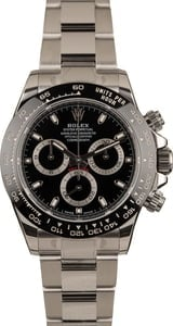 Factory Stickered Rolex Daytona 116500LN Black Dial