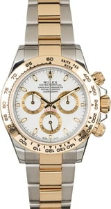 Rolex Daytona Cosmograph 116503 Two Tone with White Dial