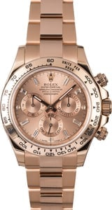 Rolex Daytona 116505 Diamond Dial Everose Gold Oyster