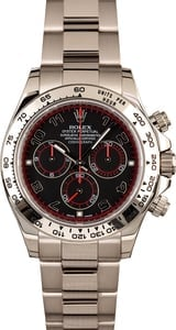Rolex Daytona 116509 White Gold Oyster Band