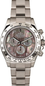 Rolex Daytona 116509 Black Mother of Pearl