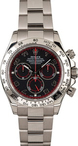 Pre-Owned Rolex Daytona 116509 White Gold Oyster