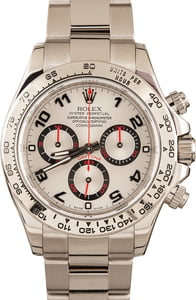 Men's Rolex Daytona 116509 White Gold Oyster