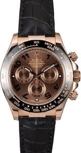 Used Rolex Daytona 116515 Chocolate Dial