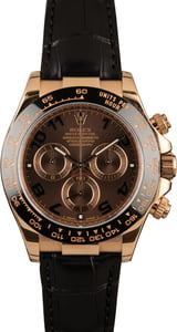 Pre-Owned Rolex Daytona 116515 Chocolate Dial