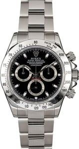 Men's Rolex Daytona 116520 Black Dial TT
