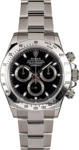 Men's Rolex Daytona 116520 Serial Engraved