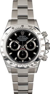 Men's PreOwned Rolex Daytona 116520 Serial Engraved