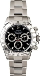 Rolex Daytona 116520 Serial Engraved Rehaut