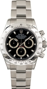 Used Rolex Daytona 116520 Serial Engraved Rehaut