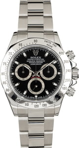 Rolex Daytona Black Face
