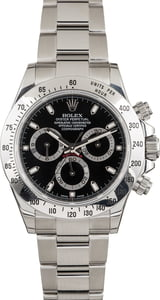Pre Owned Rolex Daytona 116520 Stainless Steel Oyster