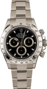Used Rolex Daytona Steel 116520 Serial Engraved