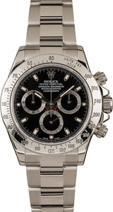 Used Rolex Daytona Steel 116520 Steel Oyster Band
