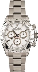 Pre-Owned Rolex Daytona 116520 White Dial