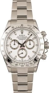 Pre Owned Rolex White Daytona 116520