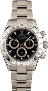 Rolex 116520 Serial Engraved Daytona