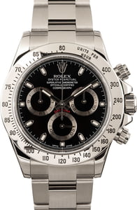 Pre-Owned Rolex Daytona 116520 Stainless Steel