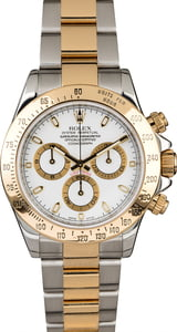 Used Rolex Daytona 116523 White Dial Cosmograph