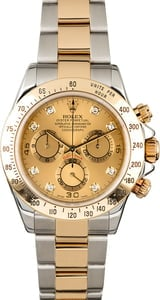 Rolex Daytona Cosmograph 116523 with Diamonds